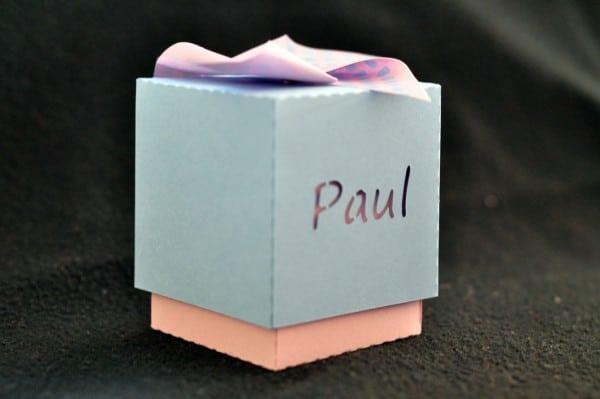 Boîtes à bonbons personnalisées