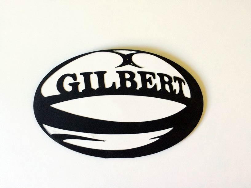 carte anniversaire ballon rugby rugbyman silouhette studio cameo portait sst gratuit