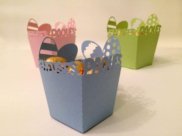 Boîte à œufs de Pâques