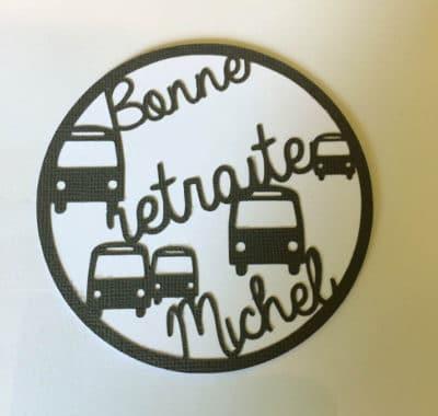 Carte de retraite – Chauffeur de bus