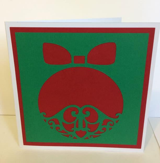 Carte Noël merry christmas card père noël santa claus oeuf cadeau