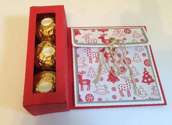 Carte / Boîte / Pochette pour Ferrero Rochers