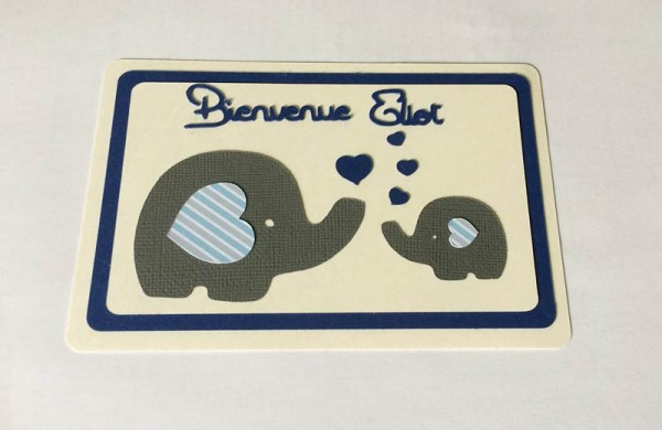 Carte de naissance – Elephants