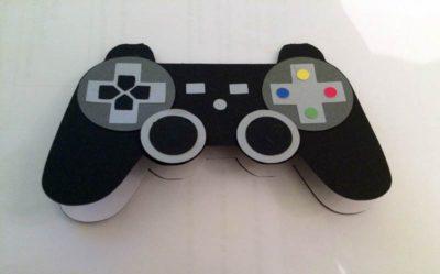 Carte d'anniversaire – Manette console de jeu vidéo Playstation