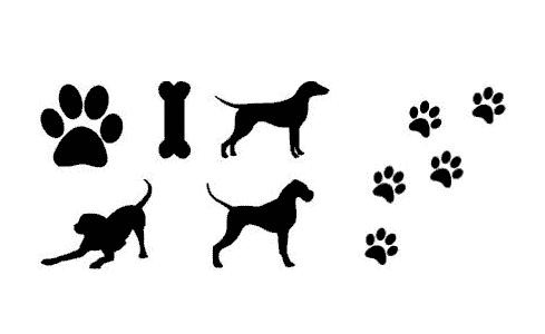 chien chiot dog fichier gratuit vectorisé Silhouette Studio Caméo Portrait free