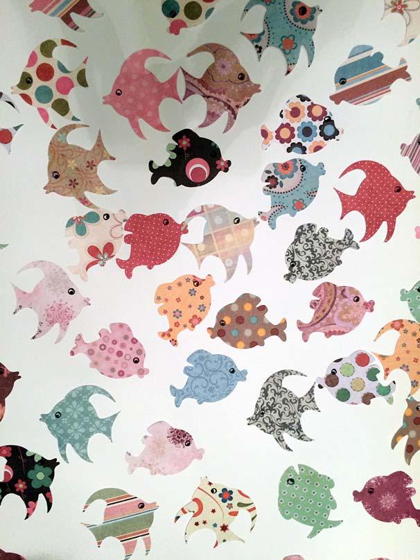 poisson d'avril motifs silhouette caméo portrait studio fichier gratuit fish free file