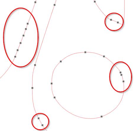 vectoriser image silhouette caméo édition points