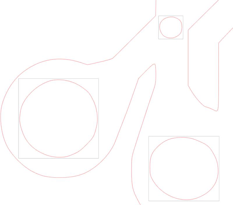 vectoriser image silhouette studio caméo portrait curio scinder tracé composite