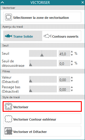 tuto vectorisation automatique vectoriser silhouette studio 4 sst