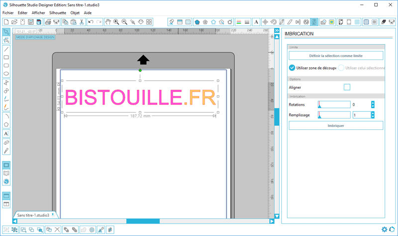tuto silhouette studio designer imbrication nesting tutoriel tutorial