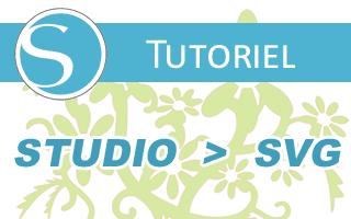 Convertir un fichier Silhouette Studio en SVG
