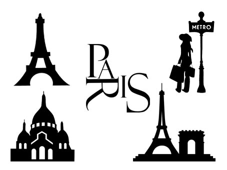 paris tour eiffel joconde svg studio png eps dxf clipart silhouette cutting file tower eiffelturm