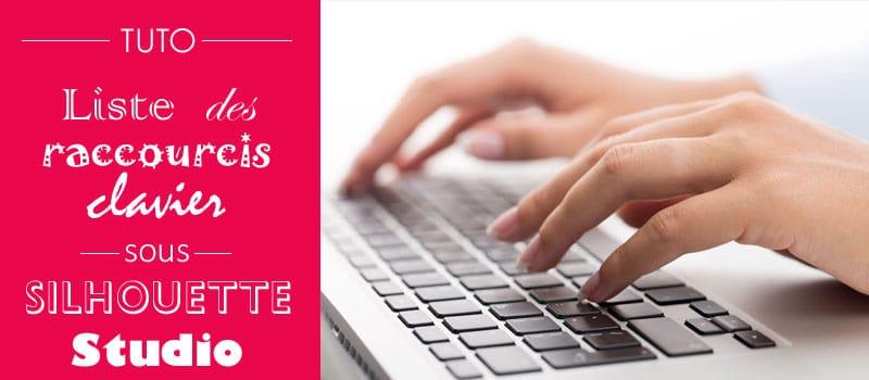 raccourcis clavier silhouette studio keyboard shortcuts