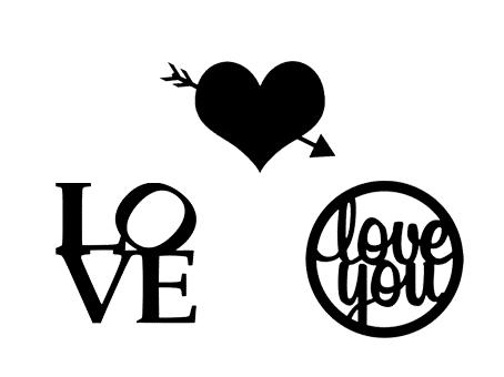 saint valentin st valentine day love coeur heart amoureux sweethearts free svg file fichier gratuit silhouette studio cameo portrait sst
