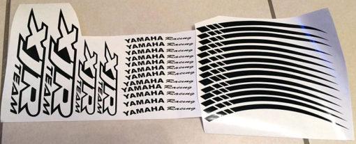 stickers moto yamaha xjr team racing