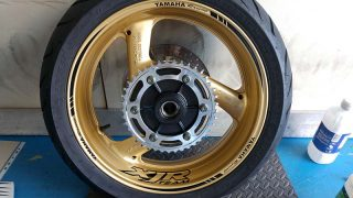 Stickers moto Yamaha Racing
