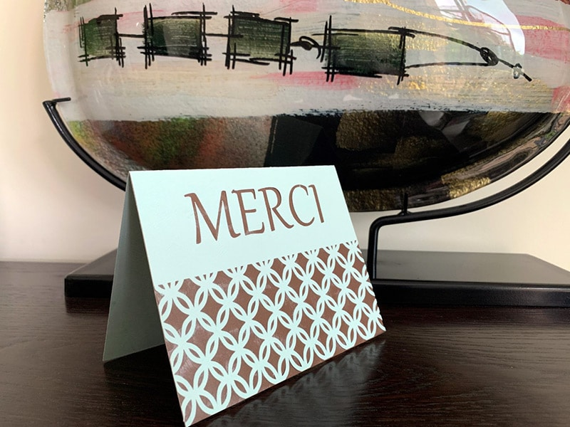 carte remerciement merci diy scrapbooking silhouette caméo portrait cricut maker explore joy brother scanncut fichier svg sst studio
