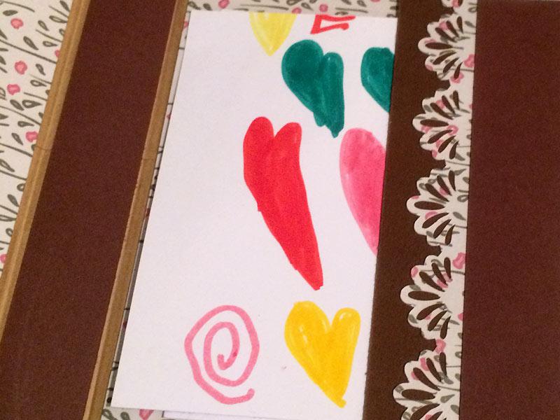 idée cadeau maîtresse atsem avs fin d'année école mini cartable diy scrapbooking