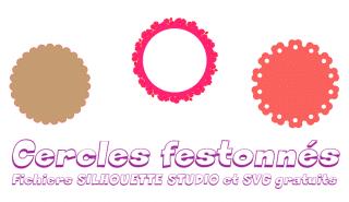 Cercles festonnés