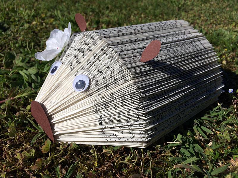 Fabriquer Un Herisson Porte Papiers Photos Avec Un Vieux