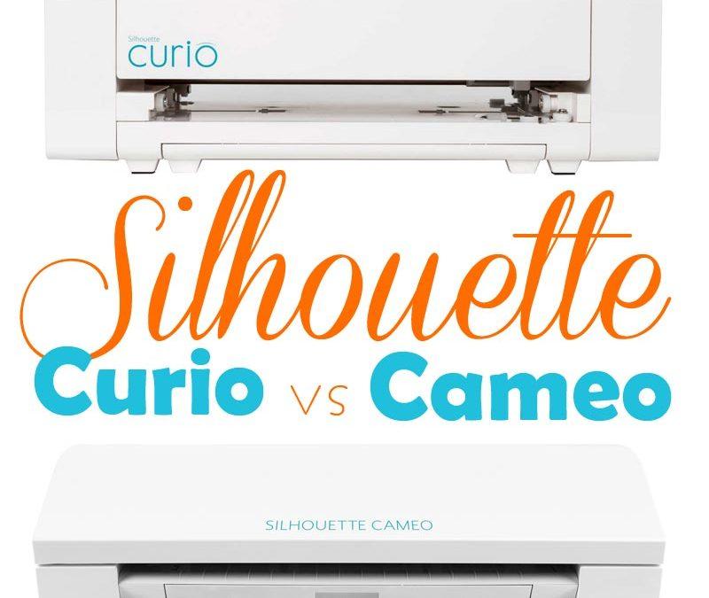Comparatif Silhouette Caméo 3 et Silhouette Curio