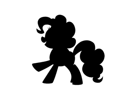 my little pony petit poney dessin animé svg silhouette studio sst clipart png