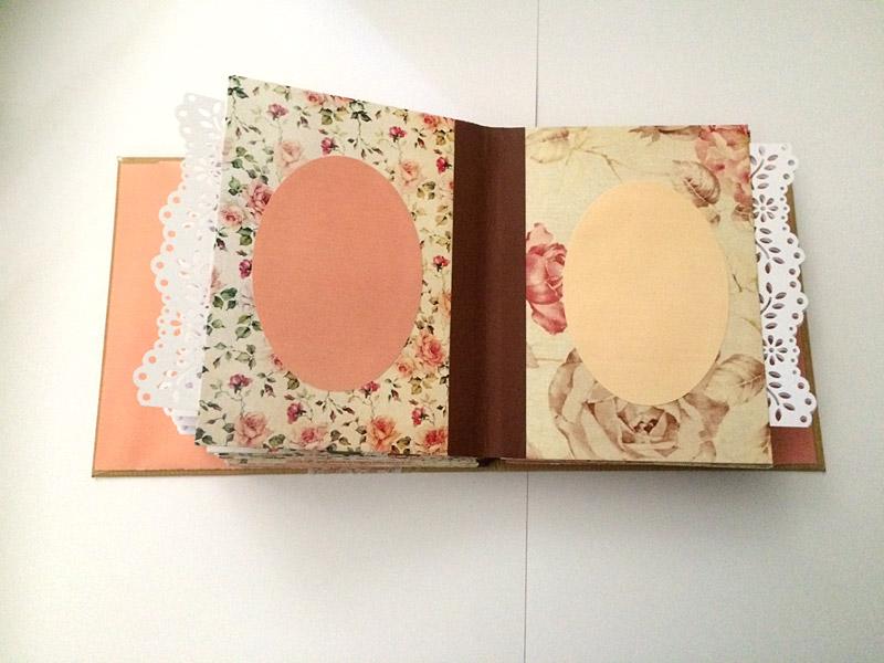 livre d'or anniversaire 40 ans vintage fleurs