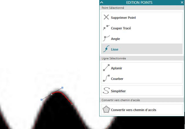 tuto vectorisation manuelle vectoriser manuellement silhouette studio courbe bezier