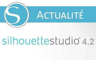 Nouveautés Silhouette Studio 4.2