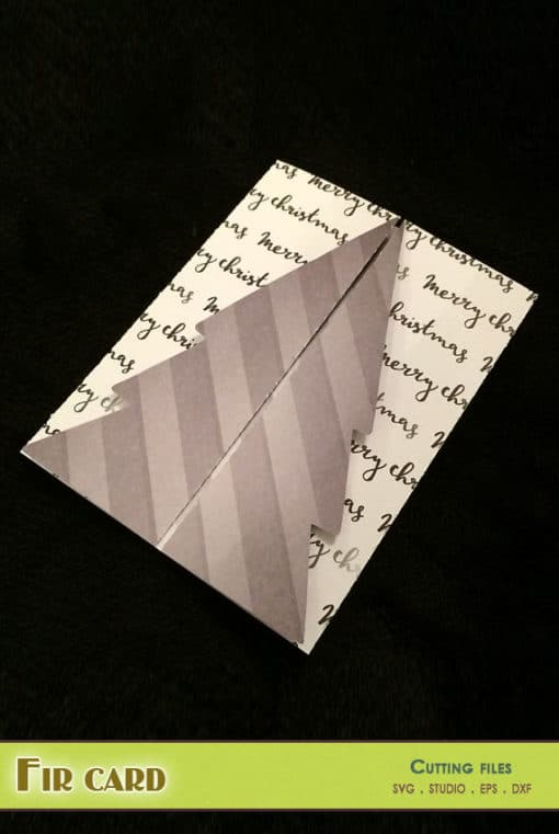 fir card scrapbooking paper silhouette cameo portrait cricut scanncut svg eps dxf png studio file
