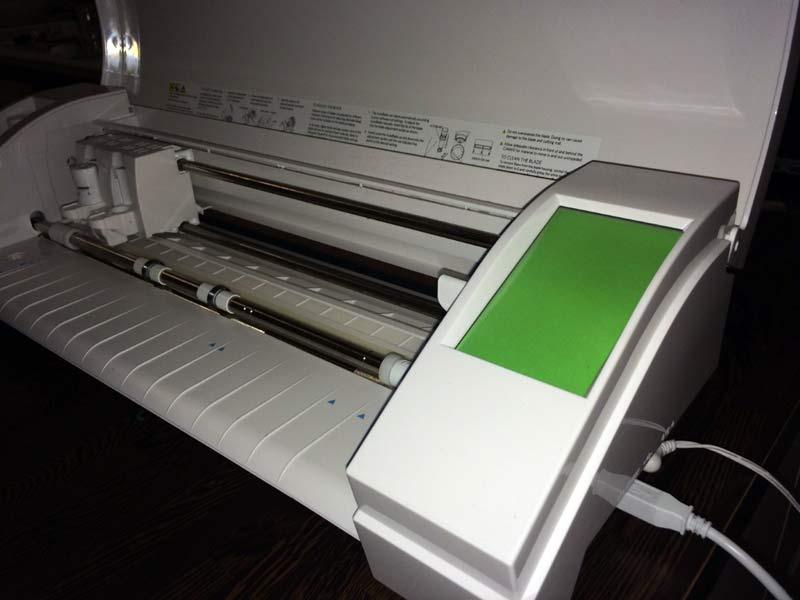 écran silhouette caméo vert