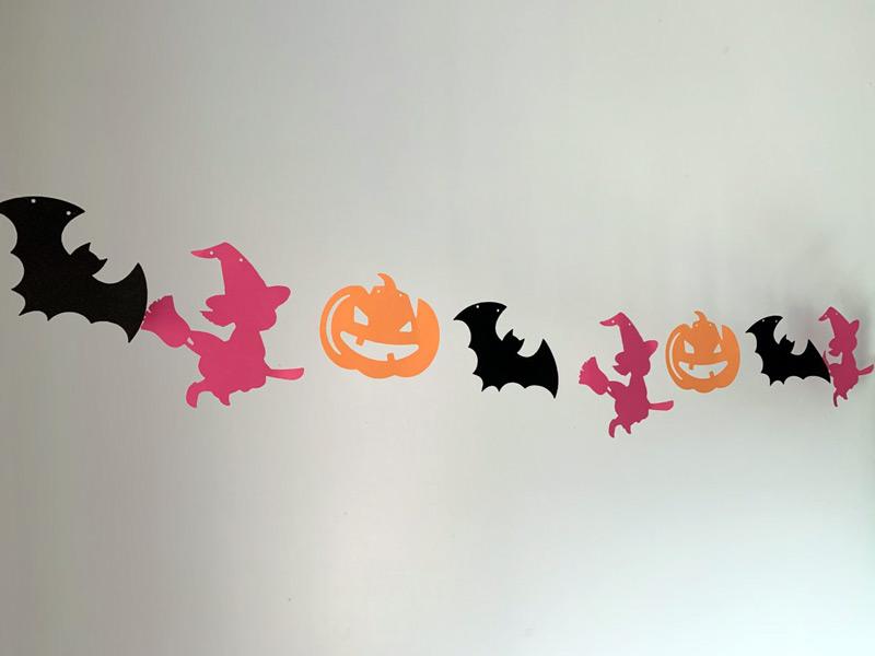guirlande halloween chambre enfant