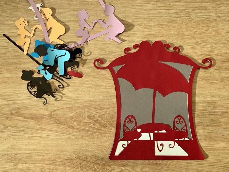 carte saint valentin scrapbooking cricut maker silhouette cameo portrait valentine's day card