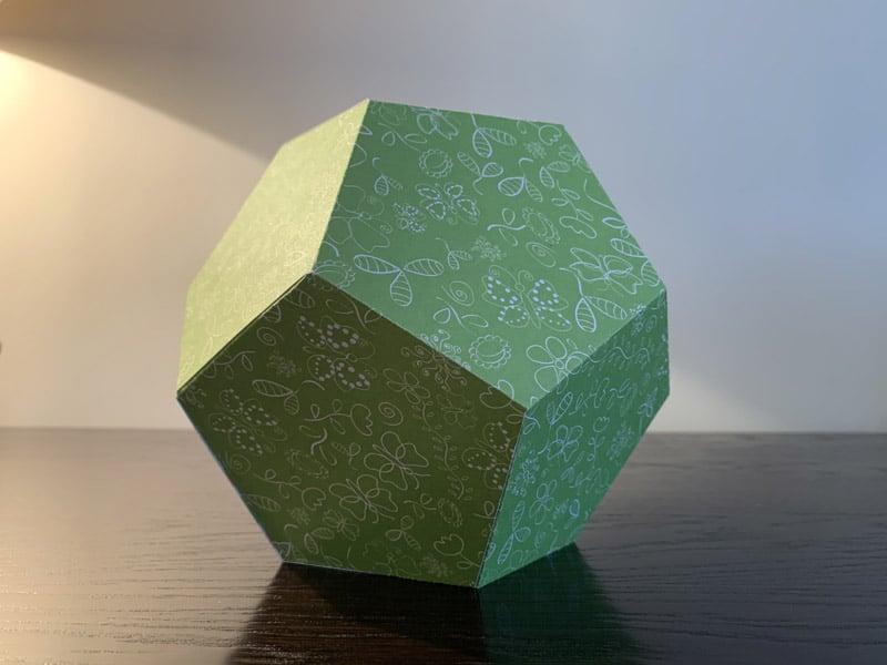 boite polygone cricut maker explore silhouette cameo portrait