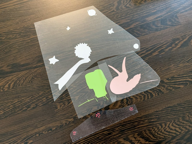 tuto pose flex cricut easy press