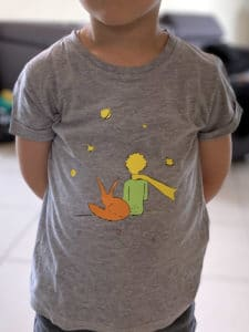 t-shirt petit prince little flex htv