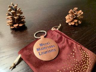 Porte-clés en simili-cuir