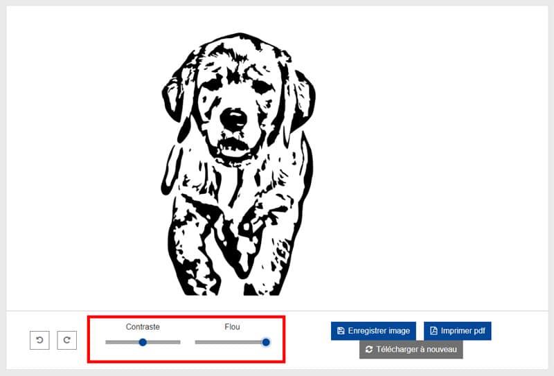 comment convertir photo image en svg edding convertisseur