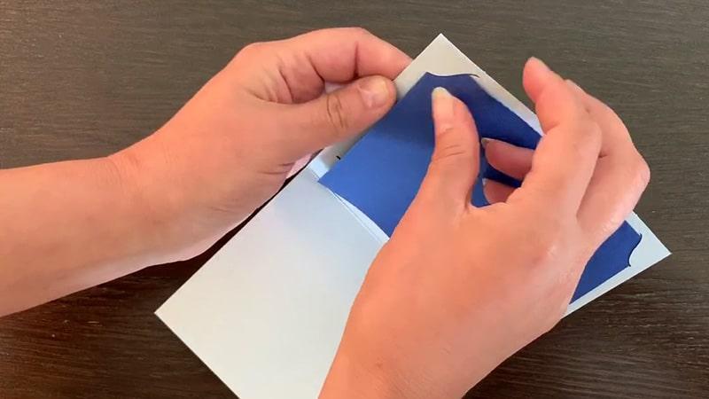 tuto fabrication carte cricut joy kit insert