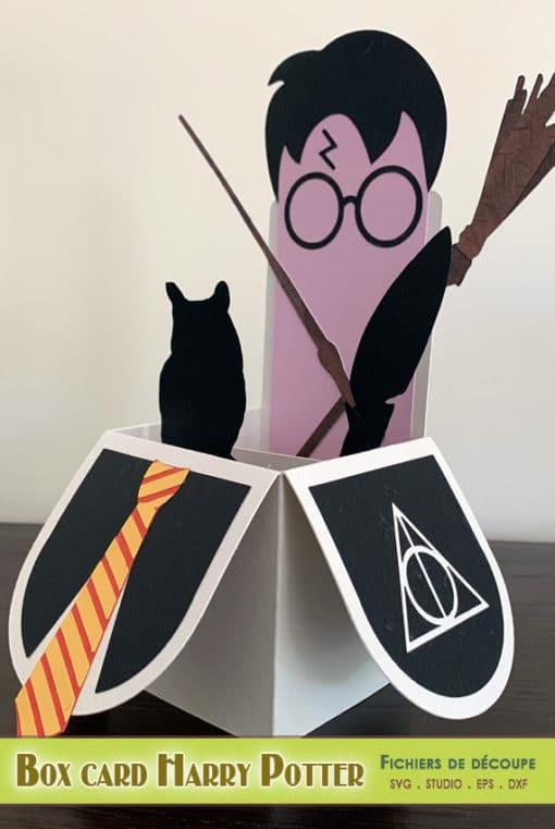 Harry Potter all occasion box card explosion boite carte