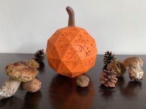 citrouille halloween filigree pumpkin lantern svg cricut silhouette scanncut