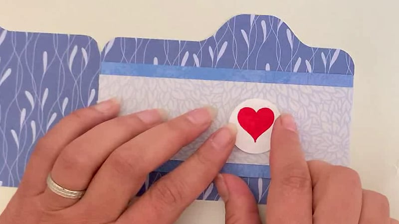 carte magic iris card message
