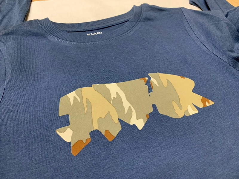 t-shirt Arthur fantasyflex camouflage crazycattransfer